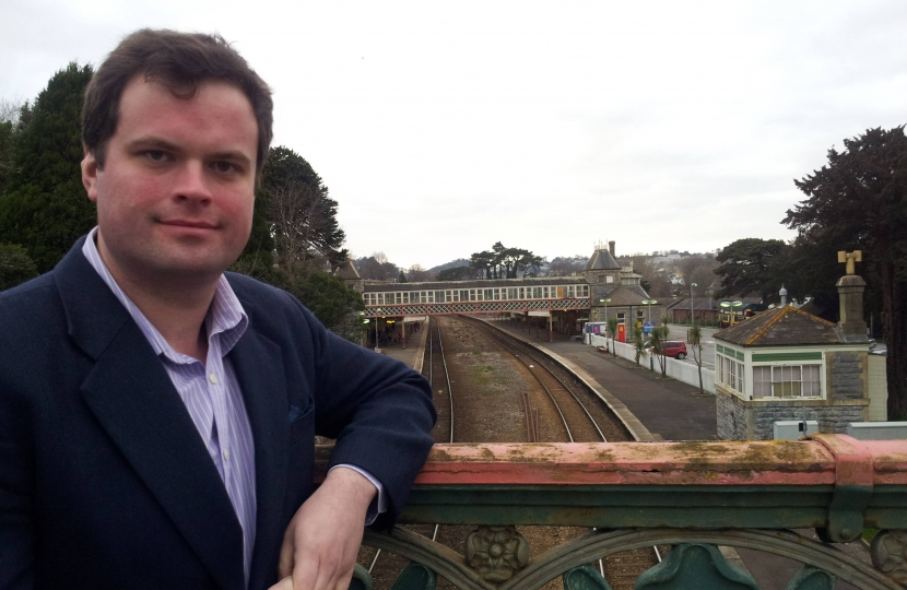 Kevin At Torquay Station