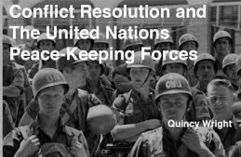 U.N. Conflict resolution