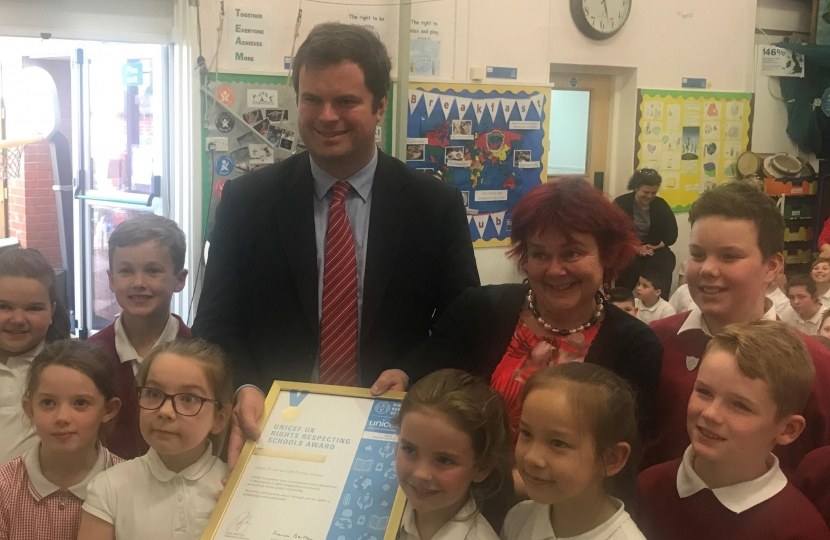 Kevin Foster MP Torbay Education