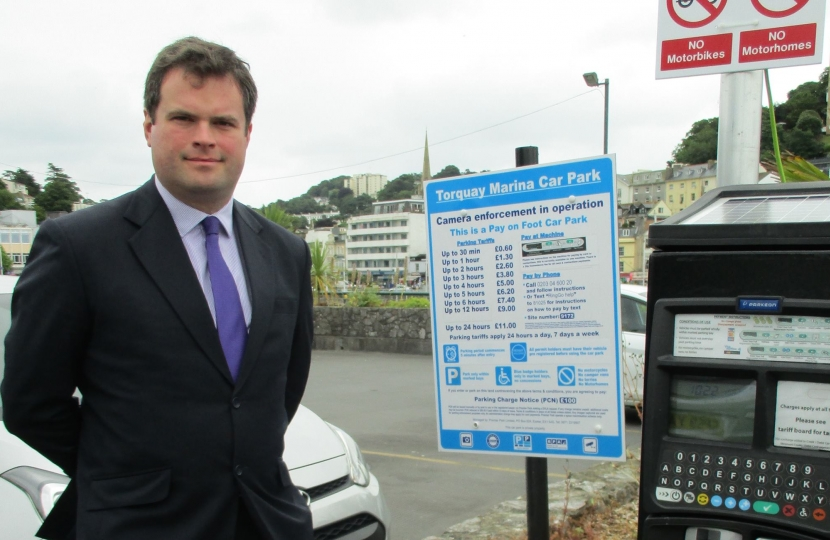 Unfair Penalty Charges in Torbay | Kevin Foster MP